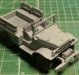 1/87 ダッジWC52トラック (2)