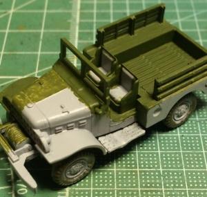 1/87 ダッジWC52トラック (3)