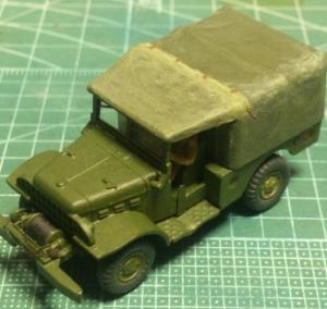 1/87 ダッジWC52トラック (9)