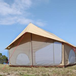 【エイテント】DODよりクラシックな外観と機能性を両立させたA型テントが登場!