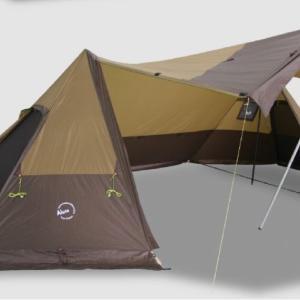 【Twin Shelter】Luxe Outdoorから煙突ポートを装備したツインシェルターが登場!