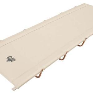 【Tradcanvas ポータブルアッセムプッドベッド】軽くてコンパクトに収納できるおすすめコット!