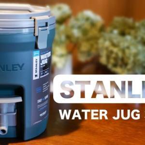 スタンレー ウォータージャグ3.8Lレビュー!気密性と保冷力が高くソロキャンプにおすすめ!