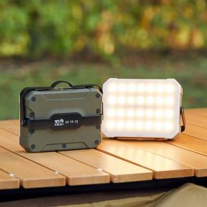 より明るく大容量にアップデートしたWAQ LEDランタン2の先行販売が決定!
