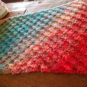 今年の初編み