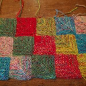 ドミノ編みだった
