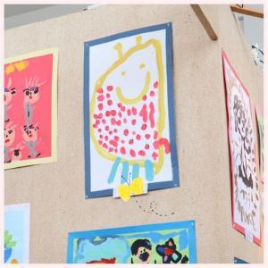 娘5歳6ヶ月 ようちえんこども絵画展へ出展(〃ω〃)