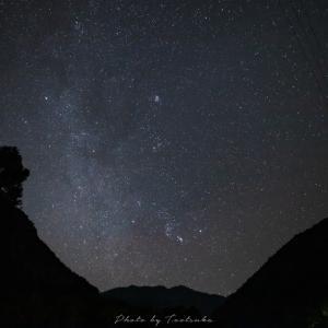 石鎚山の星空