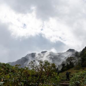 石鎚山2日目