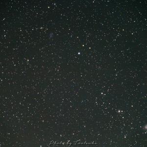 パンスターズ彗星と銀河