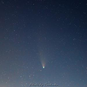 ネオワイズ彗星(7月31日)スタッキング処理