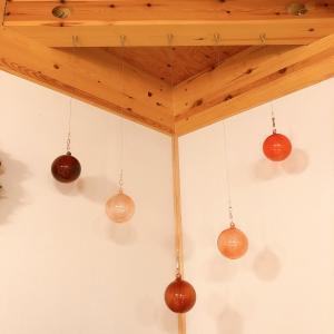 アテネの朝の落下 iittalaのガラスボールを頑丈に吊るす方法