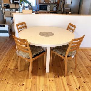 憧れの丸いダイニングテーブル artek91テーブルがやってきた!