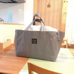 レジ袋有料化に向けてレジカゴバッグを導入 スーパーでの買い物がラクに!