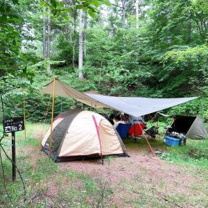 設備が嬉しい立原高原キャンプ場へ遊びに行って来ました