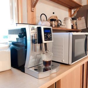 デロンギのコーヒーメーカーの除石灰と内部のお掃除