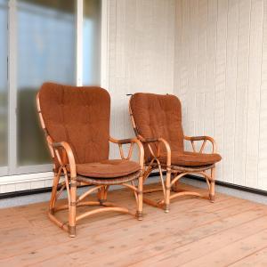 ウッドデッキに椅子がきました ウッドデッキでおうちカフェしたいな〜