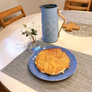 マラソンポチレポと 伝説の家政婦 志麻さん簡単レシピ リンゴのタルトタタン