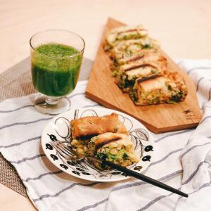 苦い小松菜が苦手でも大丈夫!小松菜のケークサレで美味しく完食