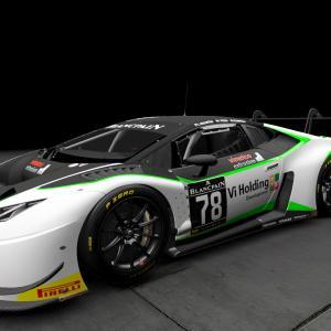 新しい愛車Lamborghini Huracan GT3 プロジェクトカーズ2