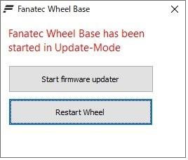 FANATECのハンコンのファームウェアを工場出荷時のVerに戻す方法