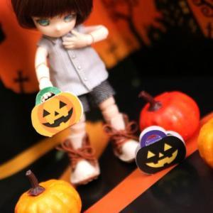 ハロウィンに!簡単かぼちゃBOX【素材配布】