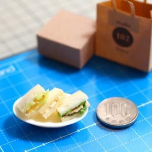 メラミンスポンジで超簡単!サンドイッチを作ろう
