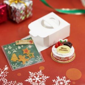 クリスマスケーキ&クッキーセットを販売しました