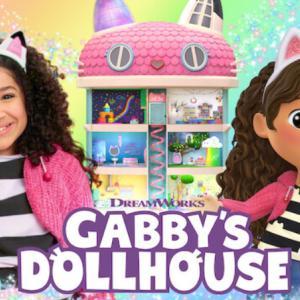 おうちごっこ遊びが好きならこれ! おすすめ、子供の英語動画 Gabby's Dollhouse