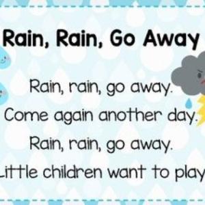雨の日にぴったりの英語歌♪