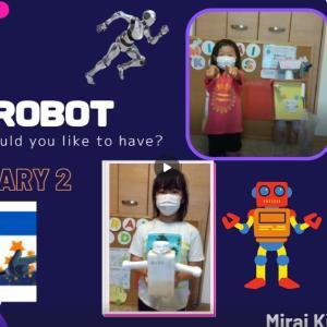 英語でプレゼン ロボットコンテスト開催中♪