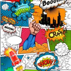 英語でお絵かきタイム 子どもたちが大好きなスーパーヒーロー編