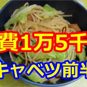 【1ヶ月】食費1万5千円生活【2~5日目】