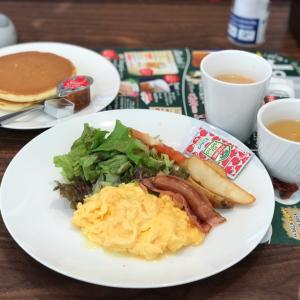 ジョナサンで朝ごはんです