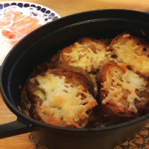 鍋丸ごと!クリスマス オニオングラタンスープ