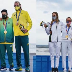 【初のオリンピックサーフィンで唯一2つのメダルを獲得した日本】メダリスト達のコメント