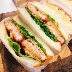 お久しぶりのサンドイッチランチ