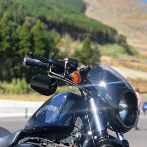 寒くなる前にバイクで阿蘇へ行きましょう!