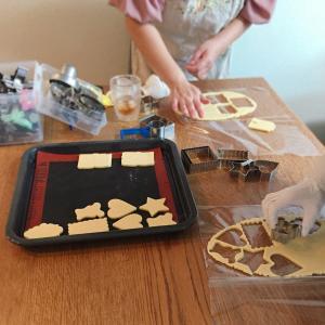 レッスンレポ☆クッキー生地作りが簡単にできます♪