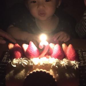 2歳のお誕生日♡