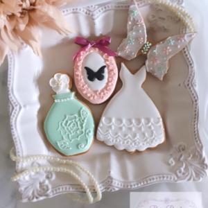 レッスンレポ☆アイシングクッキー基礎②は!より細かいパイピング♪
