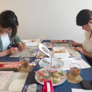 レッスンレポ☆大人気のミニサイズクッキー♡9月のレッスンにも!?