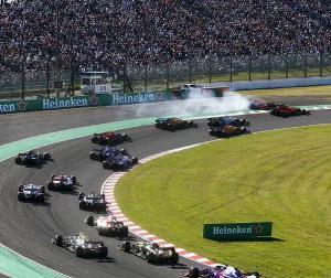 F1日本GP:ルクレール、フェルスタッペンの接触について自分に責任があると認める