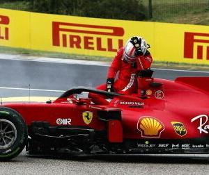 フェラーリ「F1ハンガリーGPでルクレールのエンジンは修復不可能かつ再使用不可能なダメージを受けた」