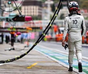 F1ロシアGP予選:アルファタウリのガスリー「1セットのタイヤで走り続けたのは大きな過ち」
