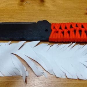 狩猟用ナイフを研ごう!ハマグリ刃の簡単な作り方