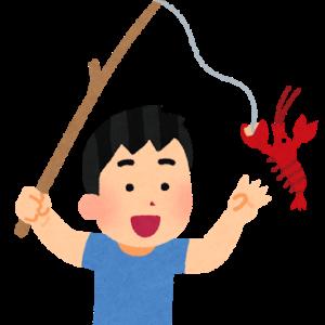 ザリガニ釣り(採り)とかいう100%の日本人男がやったことある遊び
