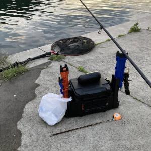 【画像】がまん出来ずに今日も釣りに来てしまった