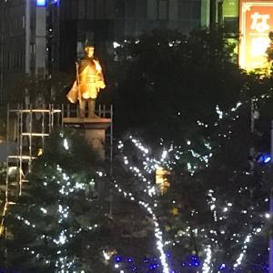 岐阜で夜ラン。