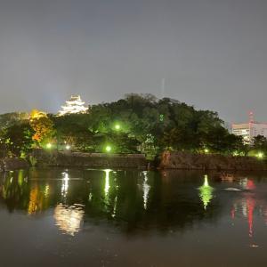 昨夜は和歌山城ラン。今日でブログ開始12周年です。